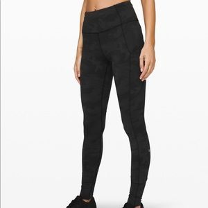 lululemon fast and free hr tight 31""